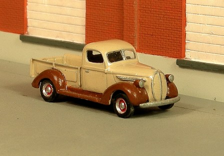 HO 1:87 Sylvan Scale Models # V-110-1941-47 Chevy 2 Ton Highway Tractor KIT